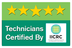 Techinicians IICRC Certified