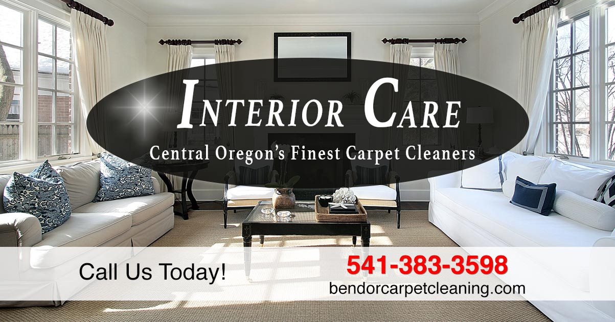 Carpet cleaning bend or interior care 541 383 3598 for Interior care carpet cleaning bend